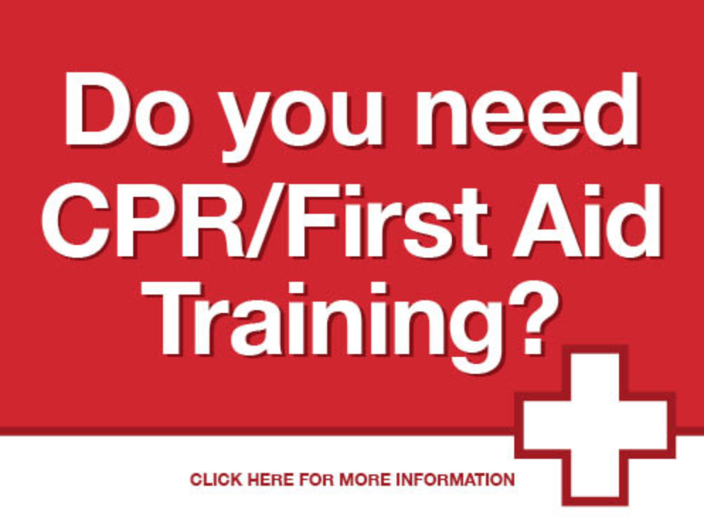 new cpr/first aid class added- september 25th!